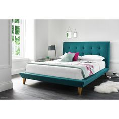 You'll love the Xander Marietta Upholstered Platform Bed at Wayfair.co.uk - Great Deals on all products with Free Shipping on most stuff, even the big stuff.