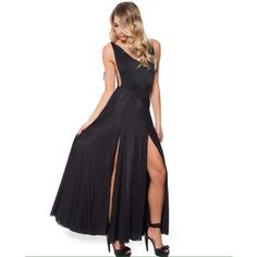 Blackmilk Sheer Split Maxi Skirt Gorgeous split skirt from Black Milk Clothing. Sheer black material that is double layered to prevent any flashing  Check out the hashtag #bmsheersplitskirt on Instagram to see styling!  Blackmilk Skirts Maxi