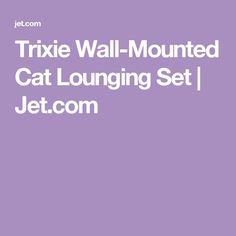 Trixie Wall-Mounted Cat Lounging Set   Jet.com