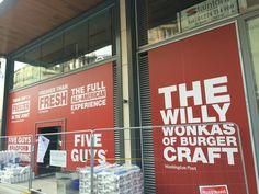 Five Guys is now open on the corner of Market Street