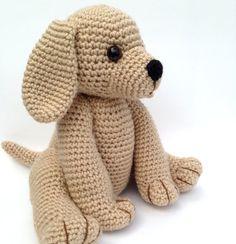 PDF CROCHET PATTERN Golden Retriever Puppy by bvoe668 on Etsy