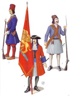 Army of Venice, the 18th century