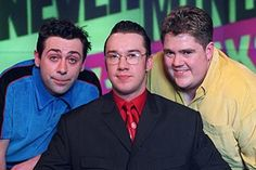 NeverMind the Buzzcocks, the original line-up ~ team captain Sean Hughes (1996-2002); presenter, Mark Lamarr (1996-2005) and team captain Phil Jupitus (1996-present) ~ still a good programme, but this was Buzzcocks at its best!