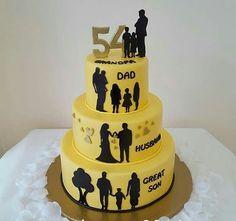 Dad Birthday Cakes 70 Fondant Cake Tutorial Cupcake