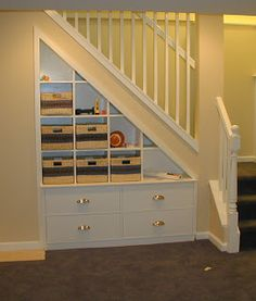 Turtles and Tails: Under-Stair Storage