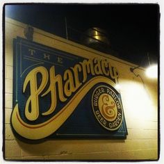 The Pharmacy (East Nashville) - Best Burger Parlor and Beer Garden in town...
