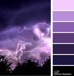Pantone June ist ein lila Farbschema von Clever Chameleon What you need to reme Purple Paint Colors, Purple Color Schemes, Color Schemes Colour Palettes, Paint Color Schemes, Hue Color, Colour Pallette, Bedroom Color Schemes, Color Combinations, Purple Painting