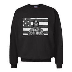 ASAP Rocky Hustle Smoke Weed Swag Trill Dope Hipster Black Sweatshirt M