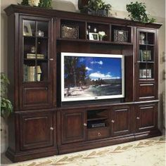 Beautiful Full Wall Tv Cabinet Entertainment Centers