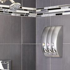 Image result for Wall mounted shampoo dispensers bathroom