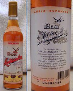 Original Matusalem made in Cuba.