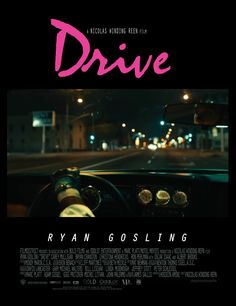 Drive **GIF** Animated movie poster
