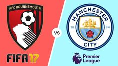 Bournemouth vs Manchester City in this FIFA 17 Prediction Gameplay, this match being played on the of August 2017 at the Vitality stadium, how accurate . Afc Bournemouth, Fifa 17, Manchester City, Juventus Logo, Premier League