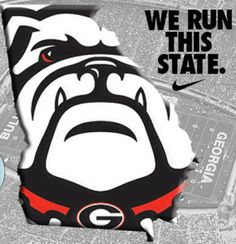 Can I get a woof woof....I say it's great to be a Georgia Bulldog ♥