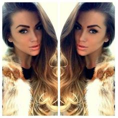 ombre hairstyles for long hair  #ombrehair #wavyhair #fashion #beauty