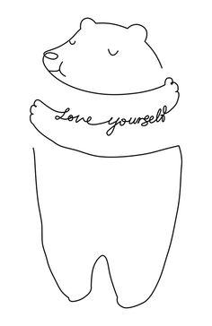 Bear Illustration.