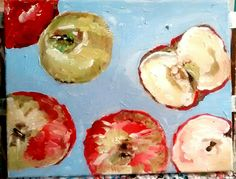 Bunches of apples by patty margalotti 2015