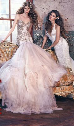 "Wedding Dresses by Galia Lahav ""Les Reves Bohemians"""