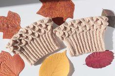 Brown Crochet Boot Cuff Women's Boot Cuffs Crochet Leg