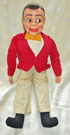 Vintage Rare Jerry Mahoney / Danny O Day Ventriloquist Dummy Doll #jerrymahoney