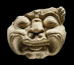 Lion's Face. 8th century. Central Thailand. Stucco. http://www.metmuseum.org/exhibitions/view?exhibitionId=%7b9A312299-72C2-49CD-9AFC-DE56BDFCF6BD%7d&oid=77733&pg=6&rpp=20&pos=113&ft=*