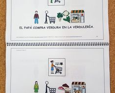 Libros_para_leer_morfosintaxis_pictogramas_ARASAAC_4 Homeschooling, Teaching, Speech Language Therapy, Speech Pathology, Educational Activities, Autism Classroom, Speech Therapy, Read And Write, Books To Read
