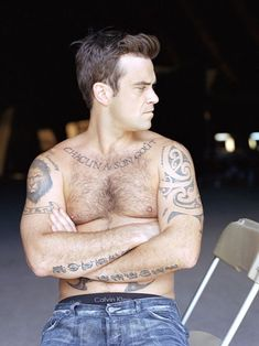 Tattooz Designs: Robbie Williams Tattoos Meanings and Pictures