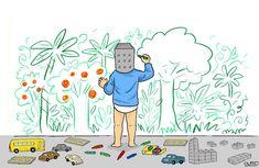 The post Green future appeared first on Toons Mag. Cartoon Mountain, Cartoons Magazine, Cartoon News, Benjamin Netanyahu, News Stories, Global Warming, Night Time, First World, Donald Trump
