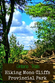 Discover another of Ontario's amazing parks! Come with me as I go hiking in Mono Cliffs Provincial Park that's home to tons of trails and awesome treasures. Hiking Spots, Go Hiking, Hiking Trails, Weekend Trips, Day Trips, Places To Travel, Places To See, Travel Destinations, Ontario Provincial Parks
