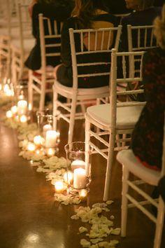 Candlelit Gold Glitter Houston Wedding | Olde Dobbin Station | Luke and Cat Photography | Reverie Gallery Wedding Blog