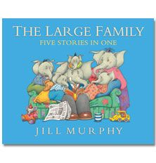the large family stories need to chk this out jill murphy book people