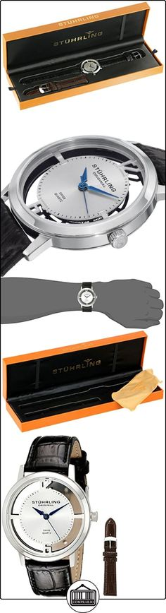 Stührling Original 388G2.SET.01 - Reloj para hombre con movimiento cuarzo suizo Man 40 mm  ✿ Relojes para hombre - (Gama media/alta) ✿