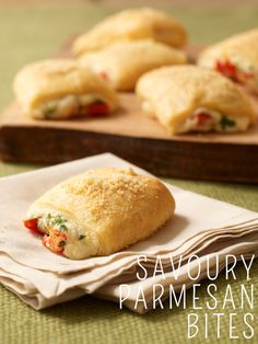 Savoury Parmesan Bites the whole family will love #recipe #appetizer
