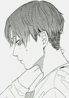 Shingeki no Kyojin | Attack On Titan | Anime | Boy | Badass | Heichou | Rivaille | Levi Ackerman | Manga | Blush