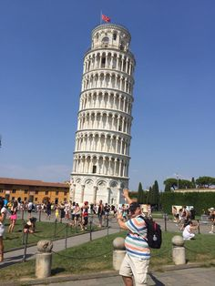 Fotografía: Graciela Schifer Pisa, Eat Pizza, World View, Tower, Italy, Building, Travel, Fotografia, Italia