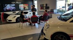 Becoming experts on our super cool Alfa Romeo 4c!