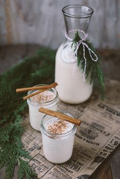 Is egg nog your go-to holiday drink? If not, what is? <3 TART Collections #TARTCOLLECTIONS