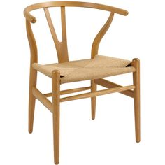 Wishbone Side Chair in Natural