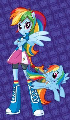 * Mi Pequeño Pony *** *** Rainbow Dash juego Niñas Tela/T-Shirt hierro en la transferencia | Artesanías, Pintura y decoración de telas, Transferencias a tela | eBay!