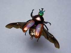 real steampunk   Libby makes amazing Steampunk inspired sculptures by combining real ...