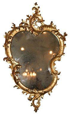 NEETA LULLA'S PICK - Italian ANtique Giltwood Mirror