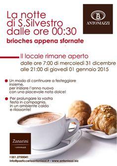 #la #notte #san #silvestro #capodanno#briochescaldissime #mmm #appenasfornate #caffèzanarini #bologna #city