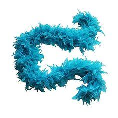 Turquoise Feather Boa Costume Accessory - 6' 12.88