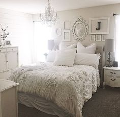 Our master bedroom makeover.