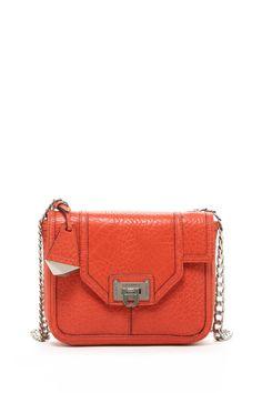 Love this coral strap purse. #RebeccaMinkoff