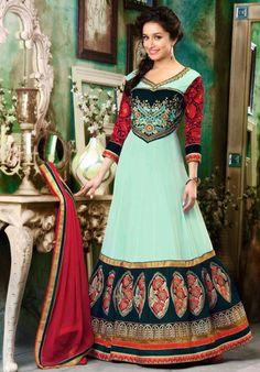 Shraddha Kapoor Multicolor Anarkali Suit – Lashkaraa