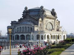 The old Casino in one of my favourite cities Constanta, Black sea coast of Romania Art Nouveau, Constanta Romania, Harbor City, Black Sea, Places To See, Old Things, Mansions, House Styles, Building