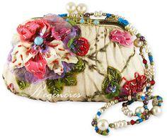 Mary Frances Handbag - Petals and Pearls - Regencies