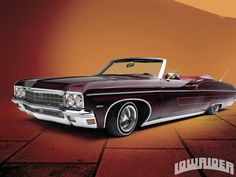 Dr. Dre Lowrider | 1970 Chevrolet Impala Convertible Driver Side View