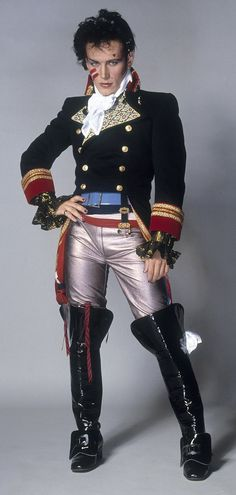 Pop star Adam Ant (pictured) had a string of chart hits in the 1980s including Goody Two S...
